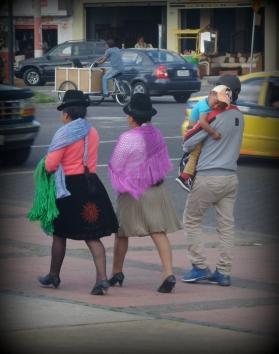 İbarra sokaklarından